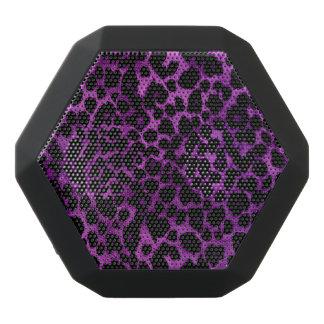 Purple Leopard Animal Print Boombot Speaker