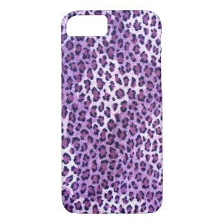 Purple Leopard iPhone 7 case