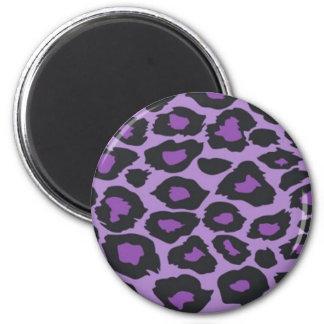 Purple Leopard Magnet