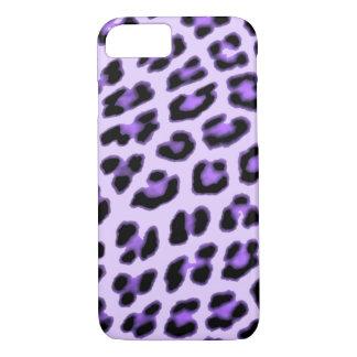 Purple Leopard Print Case