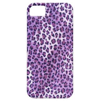 Purple Leopard Print Iphone 5S Case iPhone 5 Case