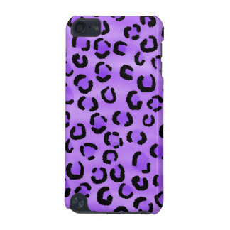 Purple Leopard Print Pattern. iPod Touch 5G Cases