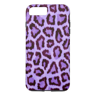 purple leopard print pattern - wild fun punk rock iPhone 7 plus case
