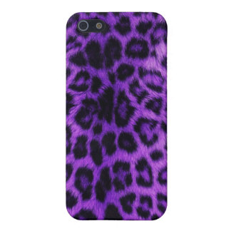 Purple Leopard Spots Case For The iPhone 5
