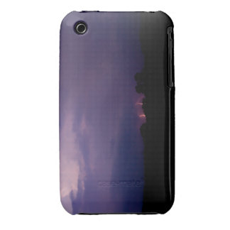Purple Lightning Strike for IPhone case/cover iPhone 3 Case-Mate Cases