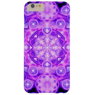 Purple Lights Mandala Barely There iPhone 6 Plus Case