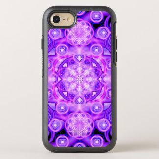 Purple Lights Mandala OtterBox Symmetry iPhone 8/7 Case