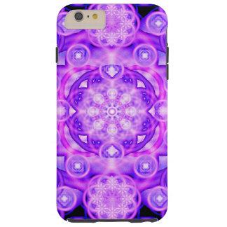 Purple Lights Mandala Tough iPhone 6 Plus Case