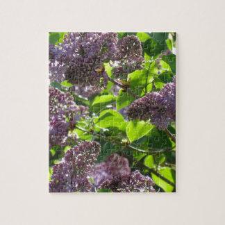 Purple Lilac Jigsaw Puzzle