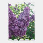 Purple Lilacs Kitchen Towel