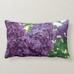 Purple Lilacs Pillow