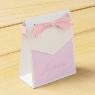 Purple Lily - Favour Boxes