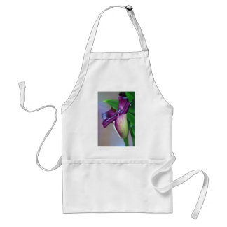 Purple Lily flower Aprons