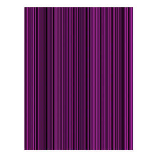 Purple lines postcard