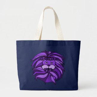 Purple Lion Tote