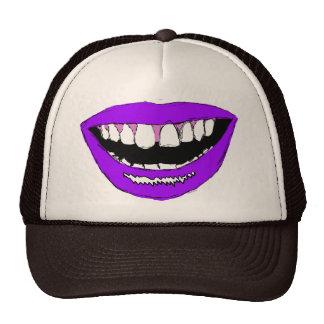 Purple Lips Cap