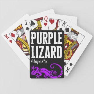 Purple Lizard playing cards