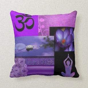 Crown Chakra Gifts Cushions Decorative Throw Cushions Zazzle Au