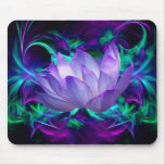 Purple lotus flower and its meaning mousepad
