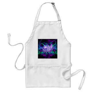 Purple lotus flower and its meaning standard apron