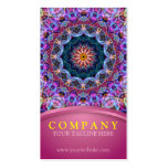 Purple Lotus Mandala with pink