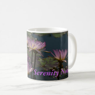 Purple Lotus Waterlilies Coffee Mug