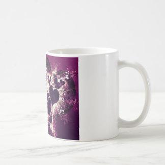 Purple Love Hearts Coffee Mug