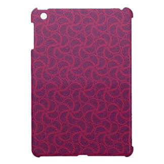 Purple magenta trippy swirly starfish fractals case for the iPad mini