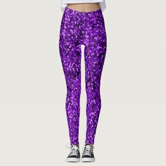 Purple Magic Leggings