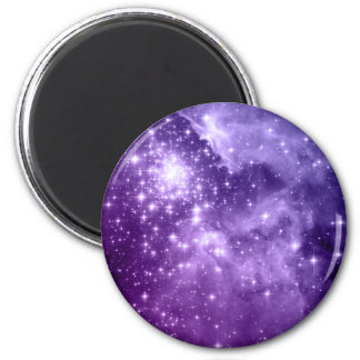 Purple Magic Stars Magnets