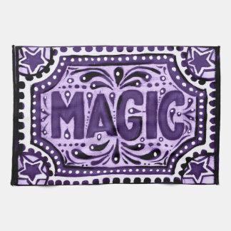 Purple Magic Tea Towel