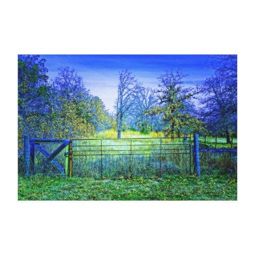 Purple Majesty Stretched Canvas Prints