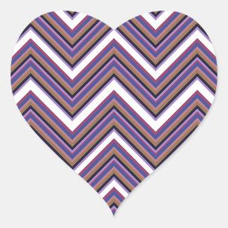 Purple Majesty Heart Sticker