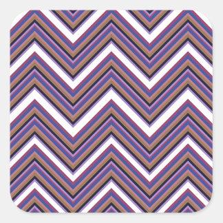Purple Majesty Square Sticker