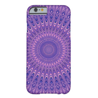 Purple mandala barely there iPhone 6 case