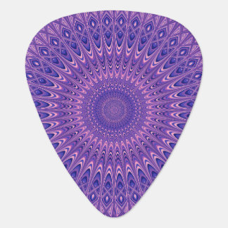 Purple mandala plectrum
