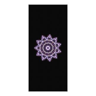Purple Mandala Rack Card