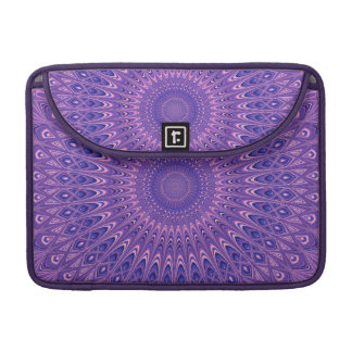 Purple mandala sleeve for MacBooks