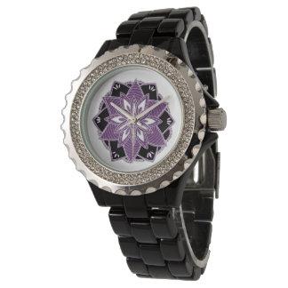 Purple mandala watch