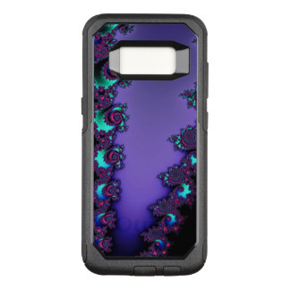 Purple Mandelbrot Fractal Design OtterBox Commuter Samsung Galaxy S8 Case