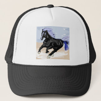 Purple Mane Trucker Hat