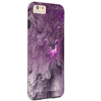 Purple Marble cloud Tough iPhone 6 Plus Case