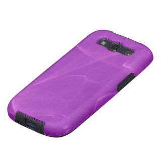 Purple Marble Samsung Galaxy SIII Covers