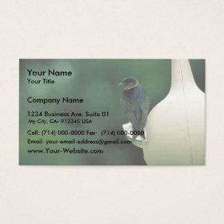 Purple martin business card