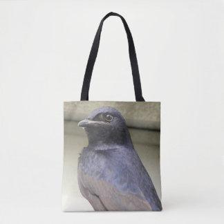 Purple Martin Male Tote Bag