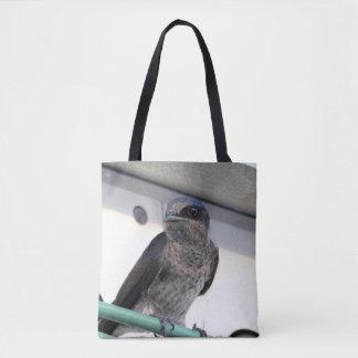 Purple Martin Tote Bag