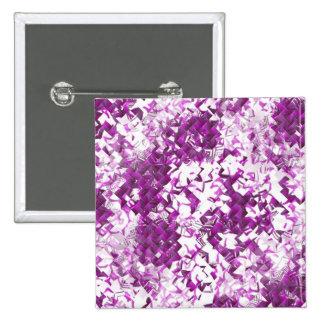 Purple Maze Pinback Button
