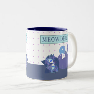 Purple Meowderino Mug