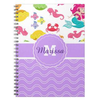 Purple Mermaid Notebook