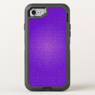 Purple Mermaid Print Design OtterBox Defender iPhone 8/7 Case